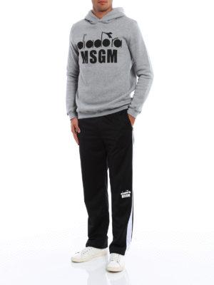 M.S.G.M.: tracksuit bottoms online - Diadora MSGM trousers
