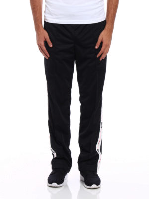 M.S.G.M.: tracksuit bottoms online - Sporty pants with side bands