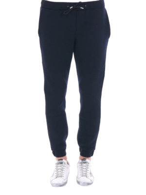 M.S.G.M.: tracksuit bottoms online - Wool blend tracksuit bottoms
