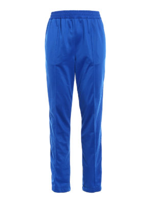 M.S.G.M.: tracksuit bottoms - Sporty pants with side bands