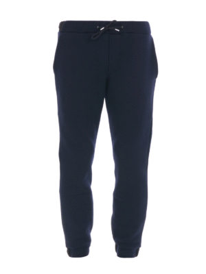 M.S.G.M.: tracksuit bottoms - Wool blend tracksuit bottoms
