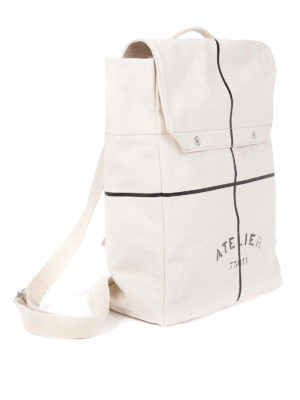 Maison Margiela: backpacks online - Cotton canvas summer backpack