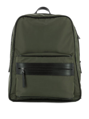 Maison Margiela: backpacks - Technical fabric backpack
