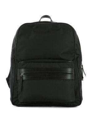 Maison Margiela: backpacks - Technical fabric backpack