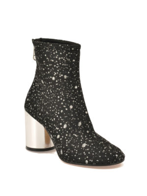Maison Margiela: boots online - Socks glittered nylon booties