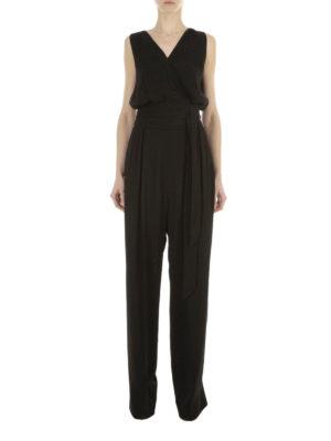 Maison Margiela: jumpsuits online - Palazzo trousers cady jumpsuit