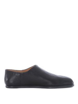 Maison Margiela: Loafers & Slippers - Tabi leather loafers