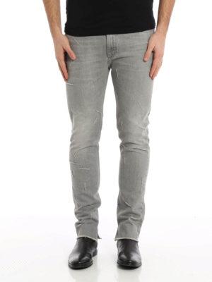 Maison Margiela: skinny jeans online - Distressed skinny jeans