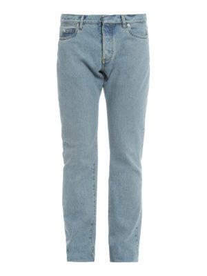 Maison Margiela: straight leg jeans - Classic denim jeans