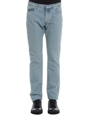Maison Margiela: straight leg jeans online - Classic denim jeans