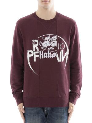 Maison Margiela: Sweatshirts & Sweaters online - Printed patchwork sweatshirt