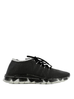 Maison Margiela: trainers - Crackle effect sneakers