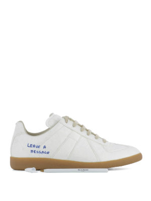 Maison Margiela: trainers - Replica sneakers with pen