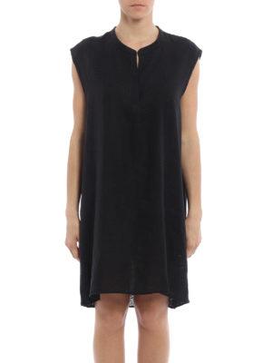 Majestic Filatures: short dresses online - Linen and jersey tunic dress