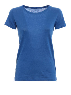 Majestic Filatures: t-shirts - Linen blend classic T-shirt