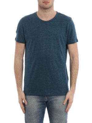 Majestic Filatures: t-shirts online - Linen and silk T-shirt
