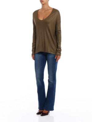 Majestic Filatures: t-shirts online - V neck deluxe Tee