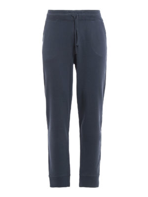 Majestic Filatures: tracksuit bottoms - Cotton fleece jogging pants