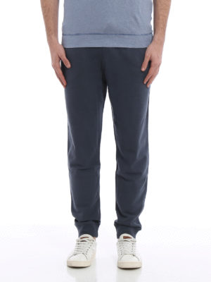 Majestic Filatures: tracksuit bottoms online - Cotton fleece jogging pants