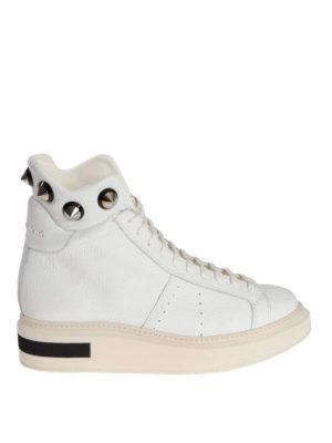 Manuel Barcelo': ankle boots - Konrad white studded ankle boots