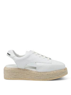 Manuel Barcelo': lace-ups shoes - Belgrave slingback lace-ups