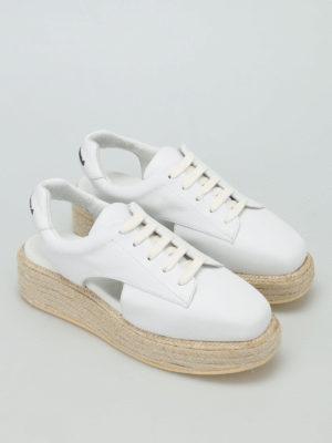 Manuel Barcelo': lace-ups shoes online - Belgrave slingback lace-ups