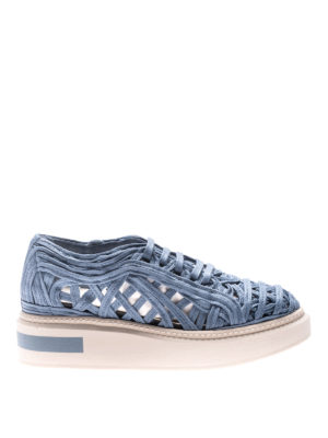 Manuel Barcelo': trainers - Lane lace sneakers
