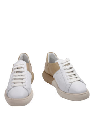 Manuel Barcelo': trainers online - Two-tone leather sneakers