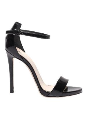 MARC ELLIS  sandali - Sandali neri in vernice Glass f61e0df5c1c
