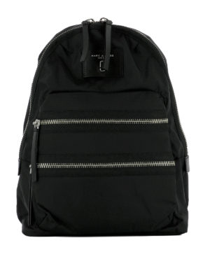 Marc Jacobs: backpacks - Biker style zipped nylon backpack