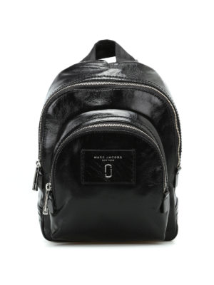Marc Jacobs: backpacks - Black leather mini backpack