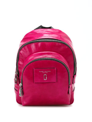 Marc Jacobs: backpacks - Crackle leather mini backpack