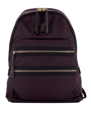 Marc Jacobs: backpacks - Multi zip nylon backpack