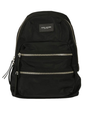 Marc Jacobs: backpacks - Nylon backpack with outer pockets