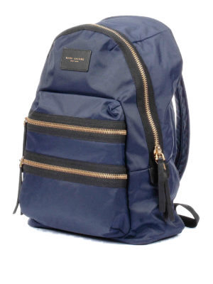 Marc Jacobs: backpacks online - Biker blue nylon backpack