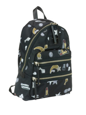 Marc Jacobs: backpacks online - Biker printed backpack