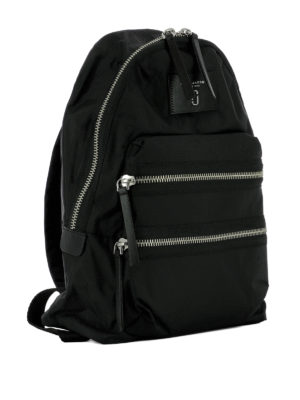 Marc Jacobs: backpacks online - Biker style zipped nylon backpack