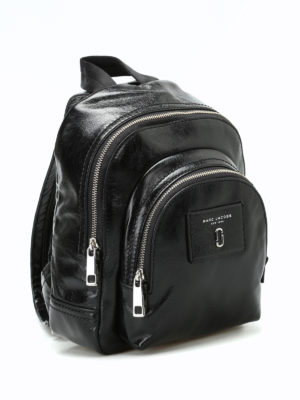 Marc Jacobs: backpacks online - Black leather mini backpack