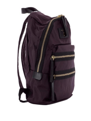 Marc Jacobs: backpacks online - Multi zip nylon backpack