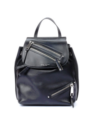 Marc Jacobs: backpacks - Smooth leather multipocket backpack