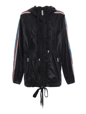 MARC JACOBS: giacche casual - Giacca a vento oversize nera