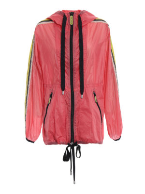 MARC JACOBS: giacche casual - Giacca a vento oversize rosa