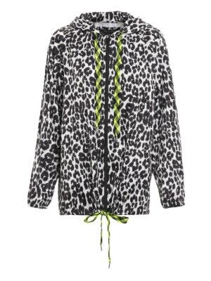 Marc Jacobs: casual jackets - Leo print rain jacket