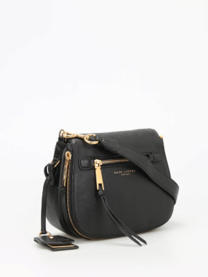 Marc Jacobs: cross body bags online - Recruit leather crossbody bag