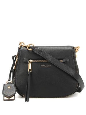 Marc Jacobs: cross body bags - Recruit leather cross body bag
