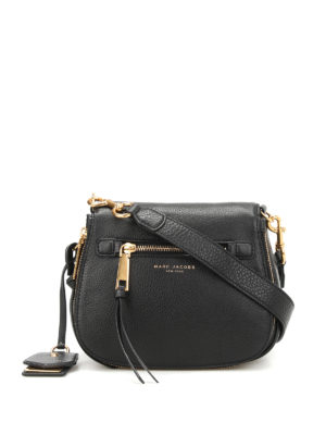 Marc Jacobs: cross body bags - Recruit leather crossbody bag