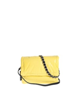 MARC JACOBS: cross body bags - The Pillow bag in Lime color