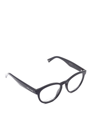 Marc Jacobs: glasses - Black acetate optical glasses
