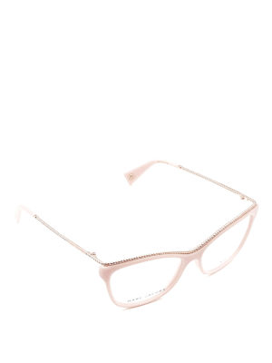 Marc Jacobs: glasses - Light pink eyeglasses