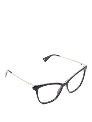 Marc Jacobs: glasses - Metal frame eyeglasses